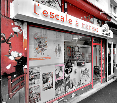 Librairie BD Asiatique Brest - L'Escale à Mangas