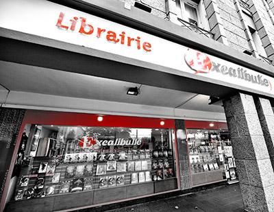 Librairie BD, Comics et figurines à Brest : Excalibulle